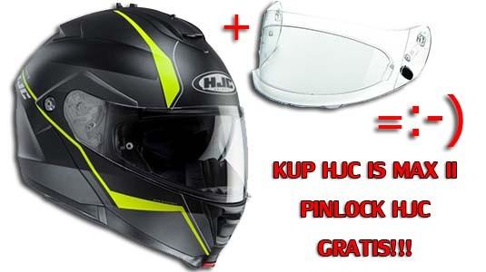 HJC IS MAX II PINLOCK GRATIS